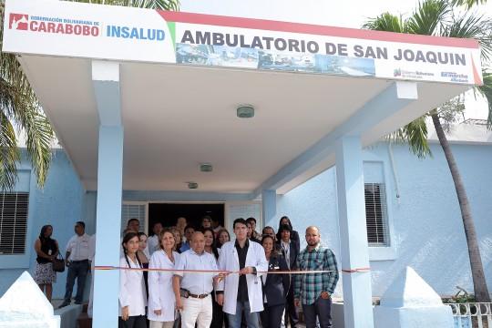 Reinauguramos  ambulatorio de San Joaquín
