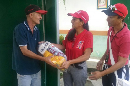Distribuimos alimentos desplegando 127 jornadas