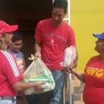 "Distribuimos más de 300 toneladas  de alimentos con Plan ""Casa por Casa"""