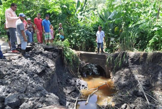 Atendemos situación causada por las lluvias en el eje costero