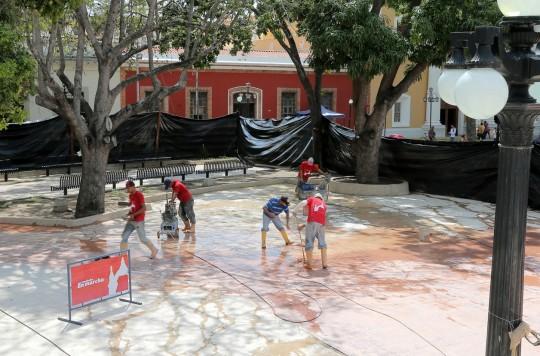 Iniciamos rescate de plaza Bolívar de Valencia