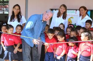 Iniciamos año escolar con inauguración de espacios educativos