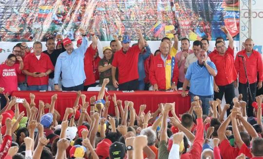 En compañía de El Aissami juramentamos equipos políticos municipales del PSUV
