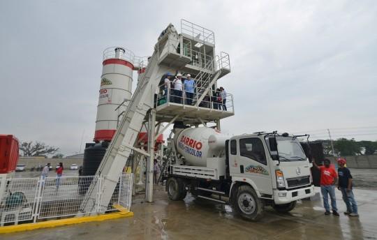 Inauguramos en Ciudad Chávez  Planta de Mortero Húmedo
