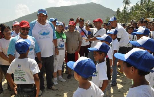 Gobernación de Carabobo se sumó Al Día Mundial de las Playas