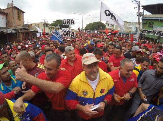 Movimientos revolucionarios  respaldan la paz en Venezuela