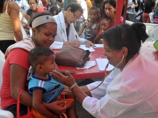 Beneficiamos más de mil 500 personas en mega jornada de Salud