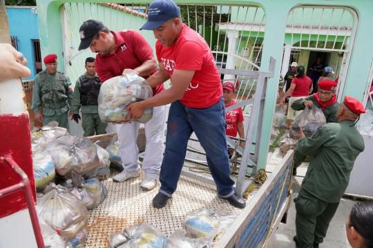Gobierno bolivariano distribuyó en Carabobo 325 toneladas en jornadas de alimentos