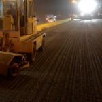 Realizamos labores de asfaltado en Autopista del Este y Variante