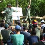 Milicia Bolivariana realizó ejercicio de adiestramiento a unefistas de Carabobo