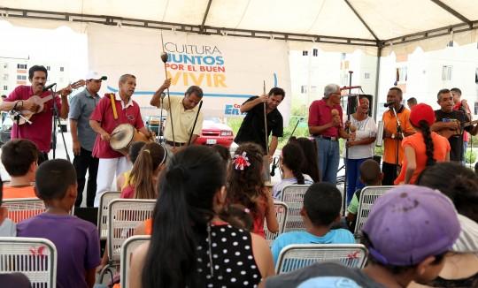 Desplegamos navidad Cultural en Ciudad Chávez