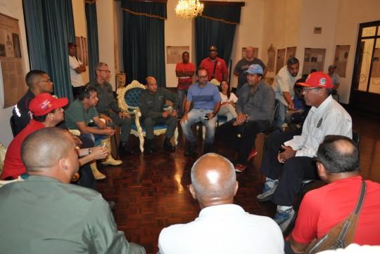 Comisión presidencial de alto nivel en Puerto Cabello para atender contingencia