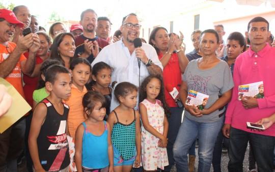 En Carabobo hemos entregado más de 2 mil tarjetas de Hogares de la Patria