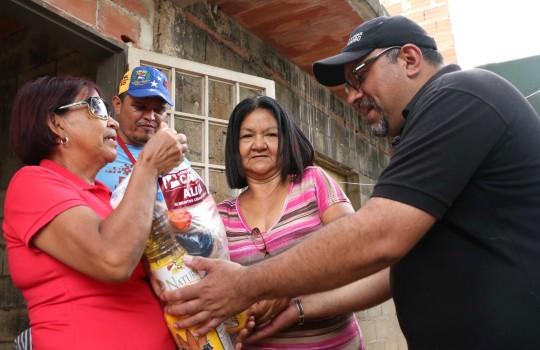 Beneficiamos más de 53 mil familias con Misión Alimentación en Carabobo