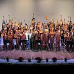 """Niños de """"Carabobo Mi Cuatro y Yo""""  ofrecieron primer concierto navideño"""