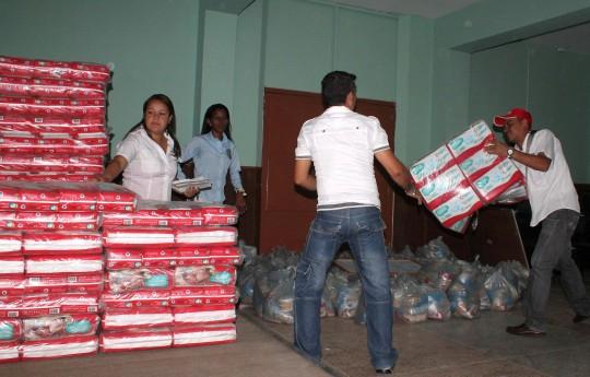 Continuamos con plan de ayuda para familias de Guacara
