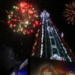 Iluminamos Parque Negra Hipólita  con tradicional encendido del árbol navideño