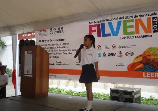 Carabobo destacó en Filven 2016 a través de escuelas estadales