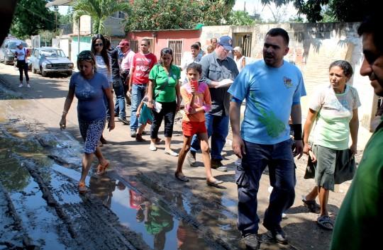 Redoblamos esfuerzos para atender afectados en Guacara