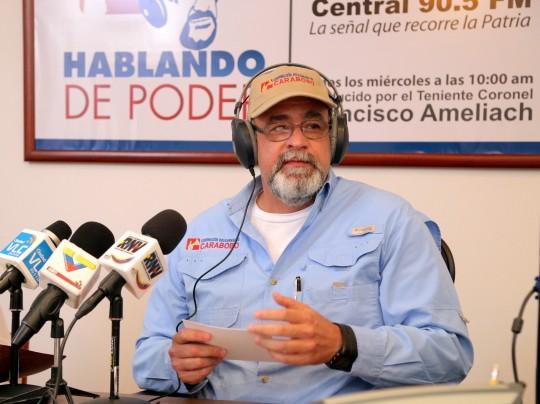 """""""Doy gracias a Dios por darme poder  para servir al pueblo de Carabobo"""""""