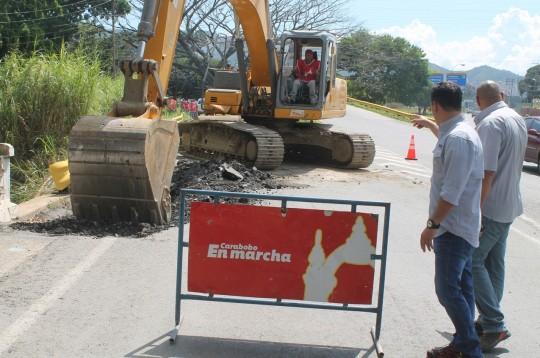 Arrancamos trabajos de rehabilitación en Puente La Hispanidad