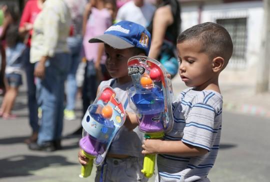 """Llevamos """"Plan Niño Jesús"""" a hogares de la Patria"""