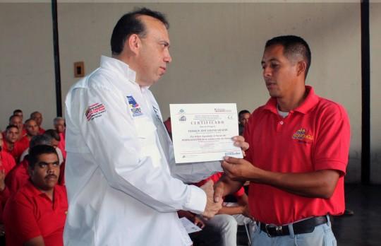 Con TransCarabobo certificamos a Transportistas de Carlos Arvelo