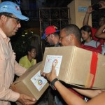 Entregamos más de 700 cajas  de alimentos a familias porteñas afectadas