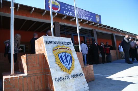 Inauguramos sede del Cicpc  en municipio Carlos Arvelo