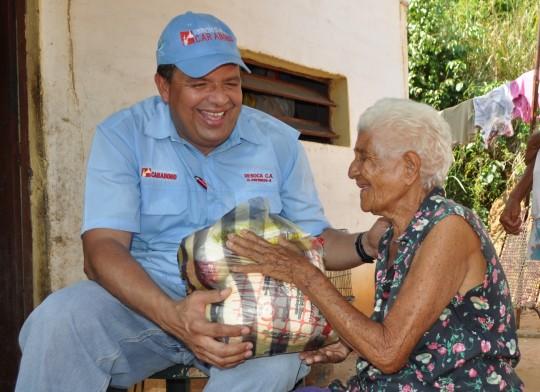 Distribuimos 42 toneladas de alimentos  en municipios de la costa el fin de año