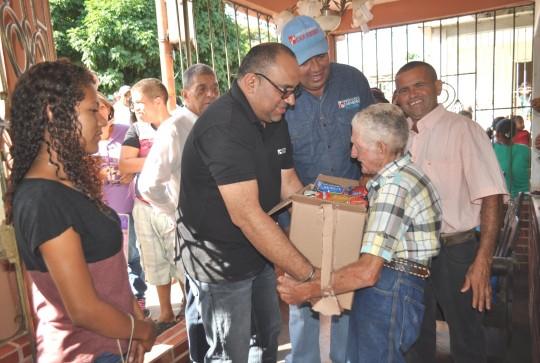 Desplegamos 59 jornadas de alimentación en 13 municipios
