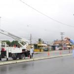 Iniciamos recuperación de alumbrado público en costa carabobeña