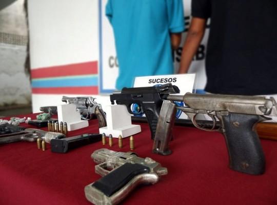 En 2016 PoliCarabobo recuperó  más de mil armas de fuego