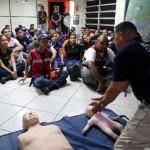 Con el Sistema Integrado de Emergencias capacitamos    a funcionarios en atención pre-hospitalaria