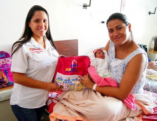 Diana Victoria es la primera  carabobeña nacida en 2017