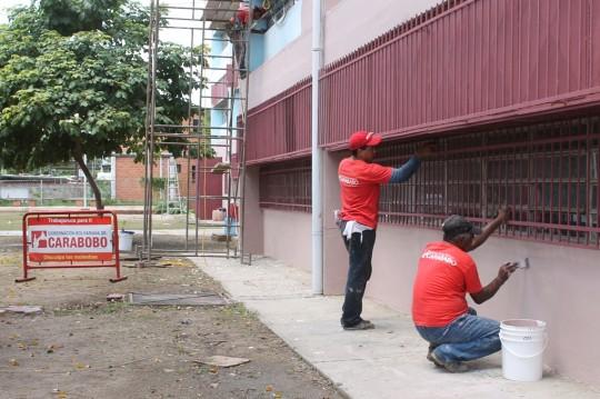 Rehabilitamos más de 100 escuelas estadales