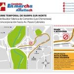 Ameliach puso en marcha rehabilitación en Distribuidor Las Chimeneas