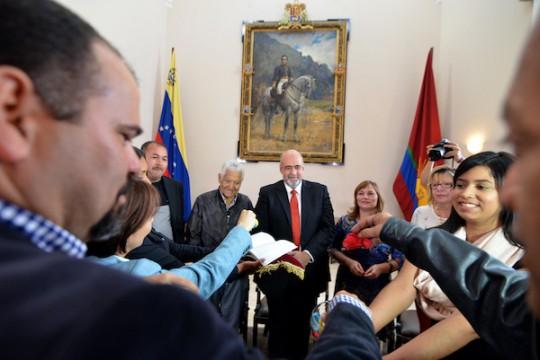 """Gobernación presentó libro """"Mosaico Electoral Venezolano"""""""