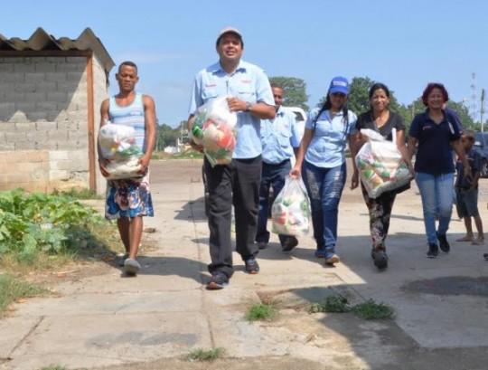 Gobernación desplegó Misión Alimentación para beneficiar a más de 30 mil familias