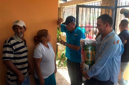 Motta Domínguez supervisó acciones de los CLAP en Carabobo
