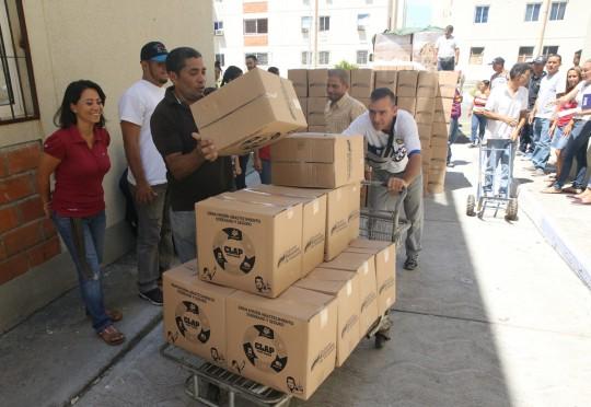 Favorecidas 34 mil familias  con distribución de alimentos