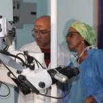 Dotamos a la CHET  con equipo para cirugías de oído