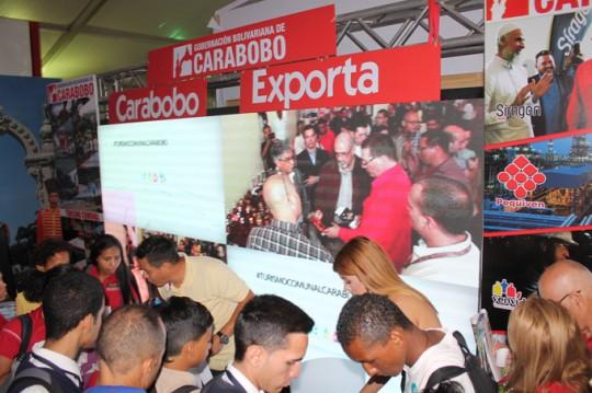 Carabobo impulsa motores productivos en Expo Venezuela Potencia 2017