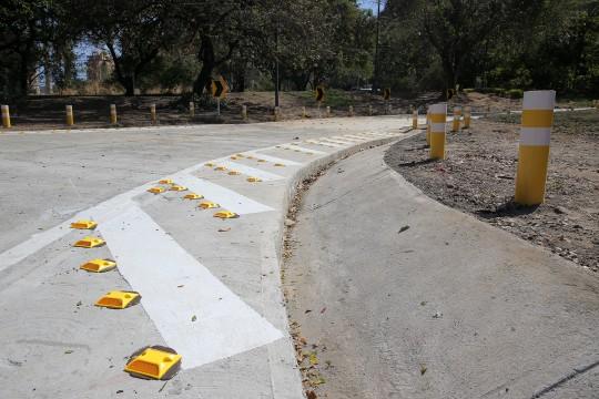 Este lunes reabrimos rampa de acceso  en Distribuidor Fábrica de Cemento