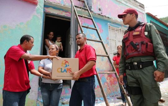 Más de mil 600 familias favorecidas  con Cajas Clap en municipio Valencia