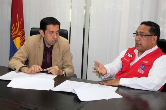 Con Escuela de TransCarabobo firmamos convenio de formación con INTT