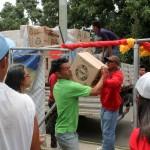 CLAP de Yagua organizados  para llevar comida al pueblo