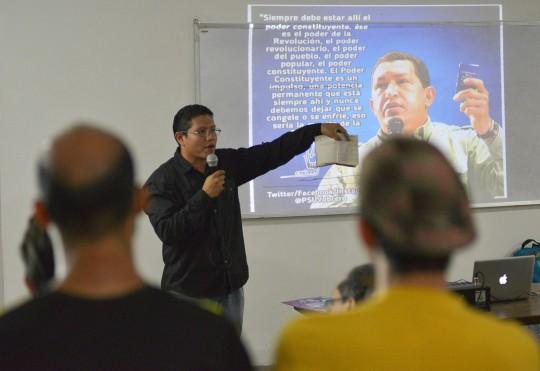 MRD Carabobo debatió Bases de Constituyente