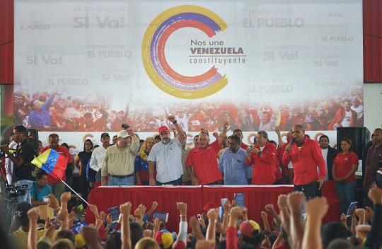 Militancia carabobeña preparada para  defender batalla por la Constituyente