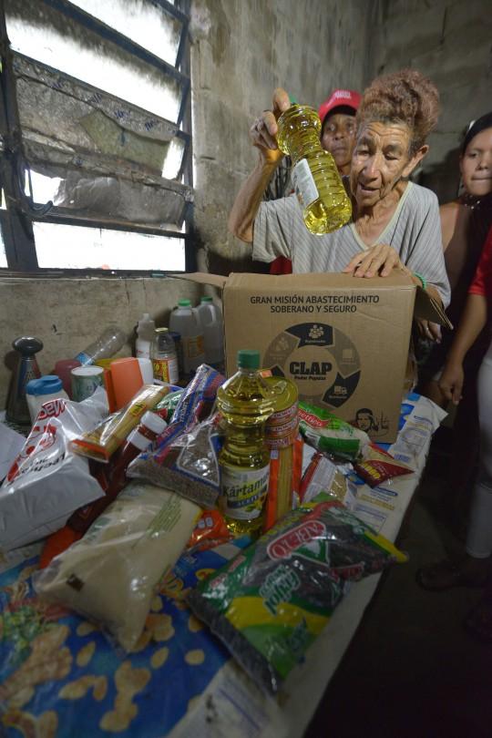 En sector Panamericano el CLAP fue bienvenido